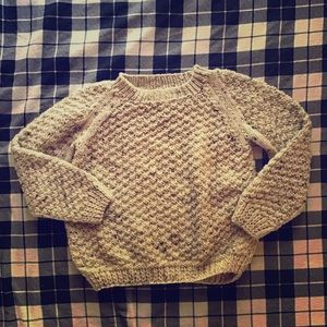 Kids Cozy Oatmeal Sweater